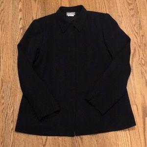 Liz Claiborne jacket, black Sz 6